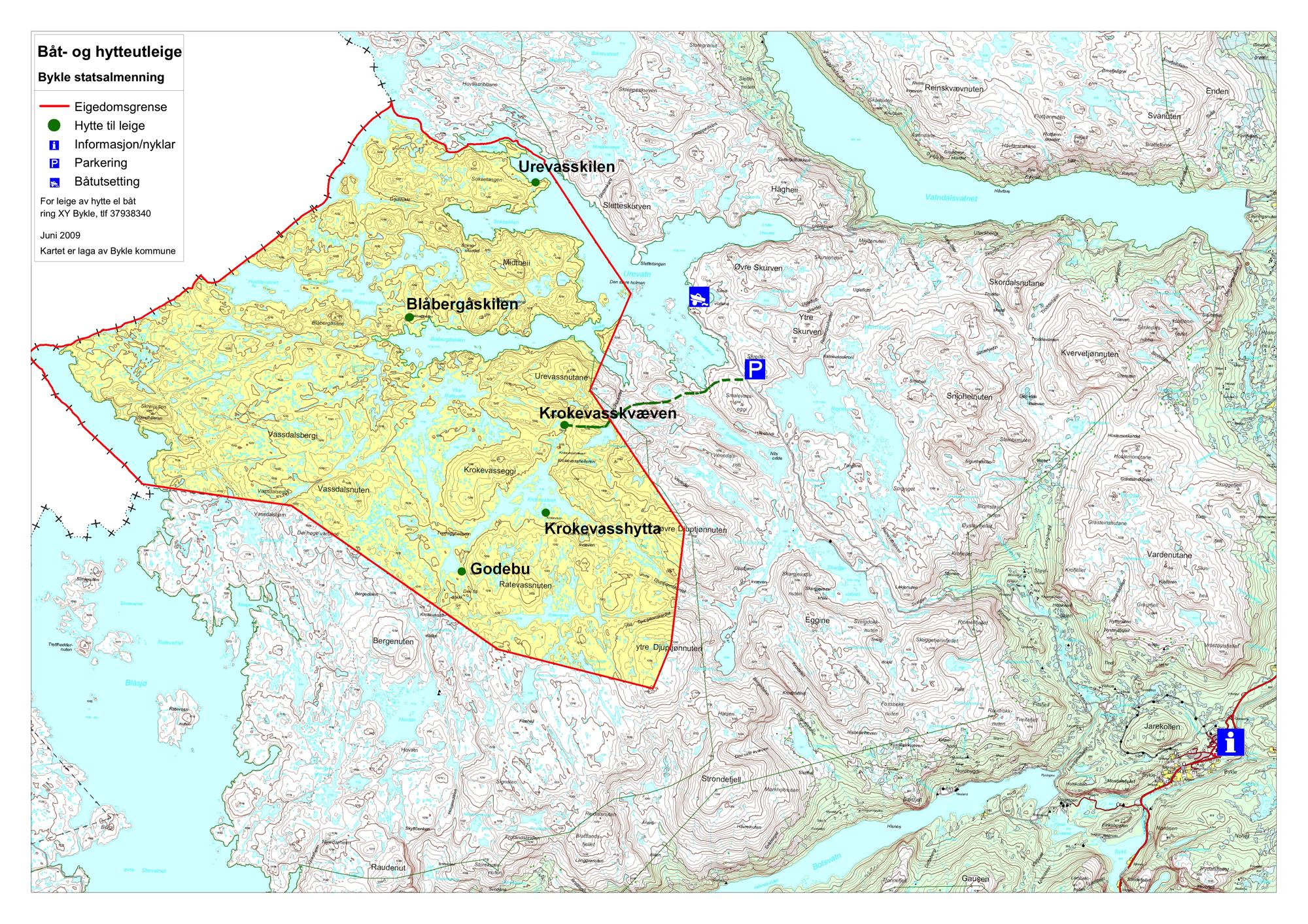 bykle kommune kart Bykle Fjellstyre   kart bykle kommune kart